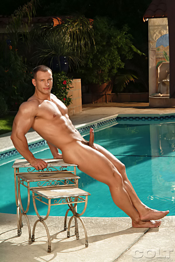 Porn archive male muscle posing naked